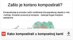 Kako kompostirati u kompostnoj kanti